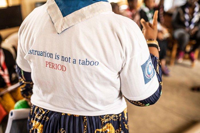 Higiene menstrual: la menstruación no es un tabú. ¡Y punto!