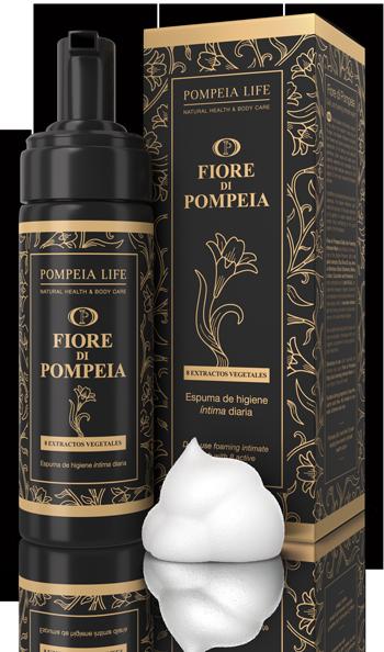 Fiore di Pompeia Espuma de Higiene Íntima Diaria - Pompeia Life