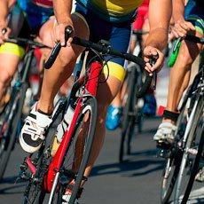 Causa de hemorroides: ciclismo