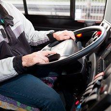 Causa de hemorroides: largos períodos de conducción