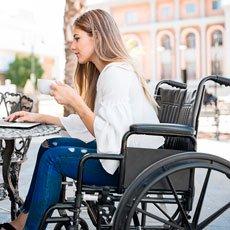 Causa de hemorroides: inmovilidad / sillas de ruedas