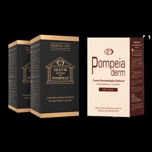 Pack Dúo Olevm Íntimo di Pompeia + Pompeia Derm